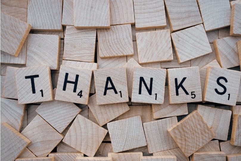 תודה – רק מילה אחת!